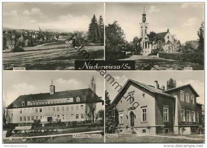 Niederwiesa - Foto-AK Grossformat
