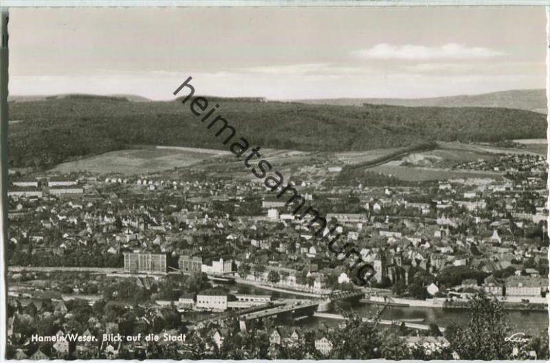 Hameln - Blick auf die Stadt - Foto-AK