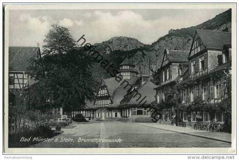 Bad Münster am Stein - Brunnenpromenade
