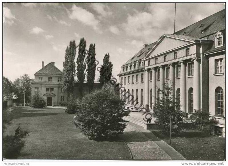 Berlin - Museum Dahlem - Foto-AK Grossformat