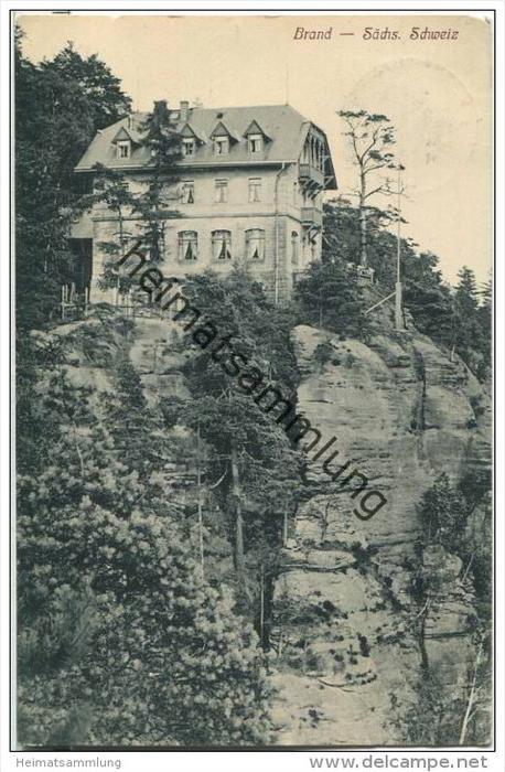 Brand - Sächsische Schweiz