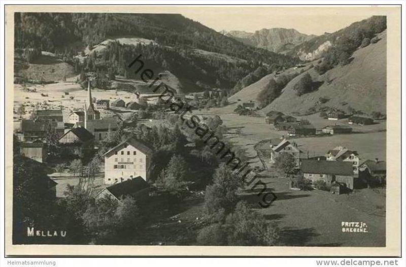Mellau - Foto-AK 20er Jahre