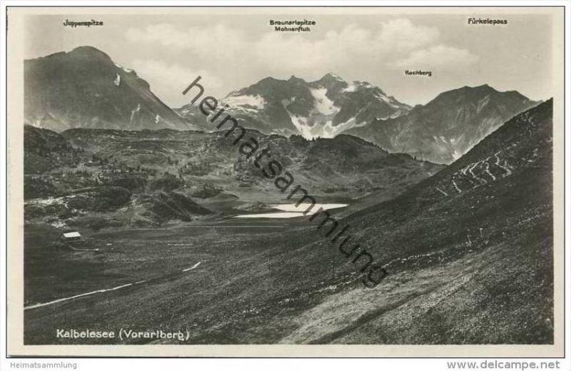 Kalbelesee - Foto-AK 20er Jahre