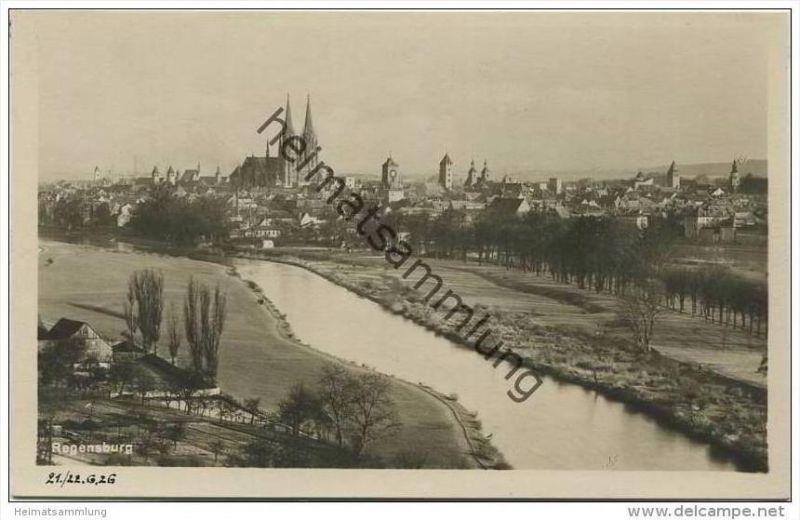 Regensburg - Foto-AK 20er Jahre
