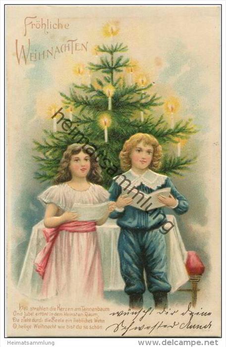Tannenbaum gedicht weihnachten