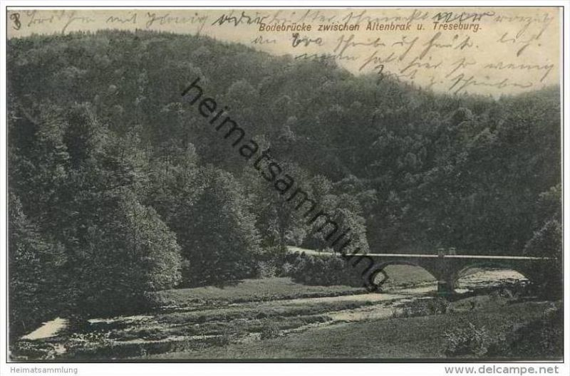 Bodetal zwischen Altenbrak und Treseburg