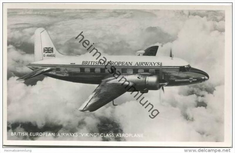 British European Airways Viking Class Aeroplane