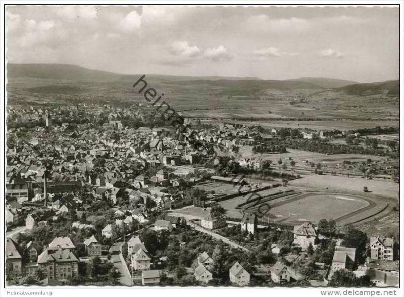 Eschwege - Luftaufnahme - Foto-AK Grossformat 60er Jahre