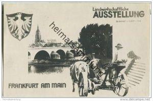 Landwirtschaftliche Ausstellung - Frankfurt am Main - 1948 - keine AK-Einteilung - Sonderstempel
