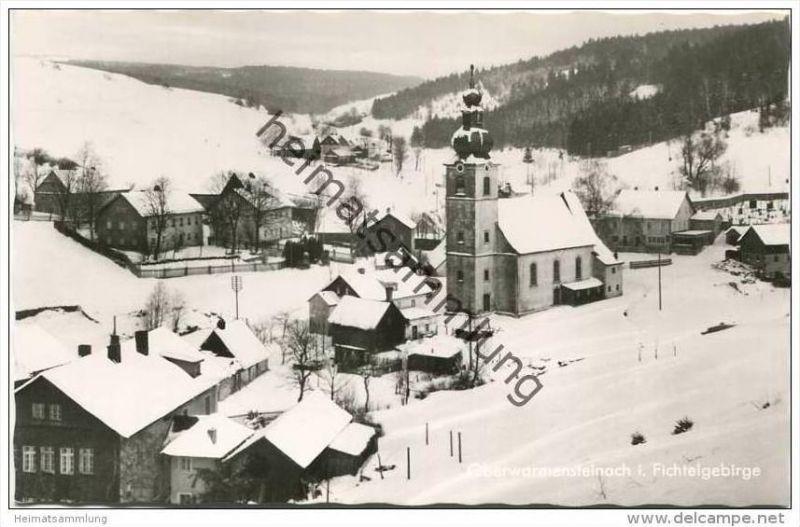 Oberwarmensteinach - Foto-AK 50er Jahre