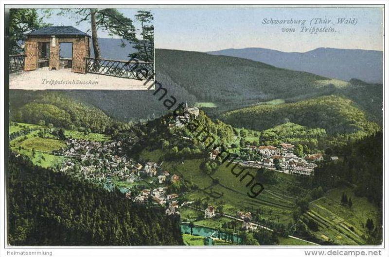 Schwarzburg in Thüringen - Trippsteinhäuschen