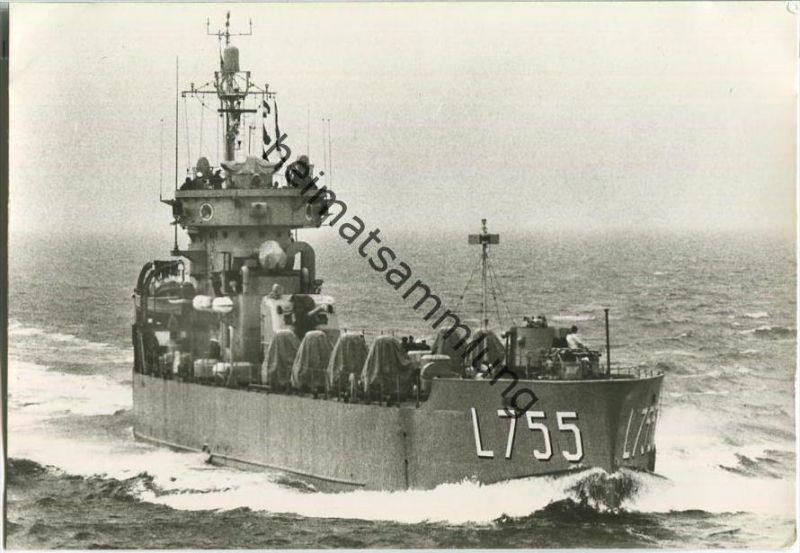 Bundeswehr - Unsere Flotte - Landungsstützungsschiff Natter- Foto-AK