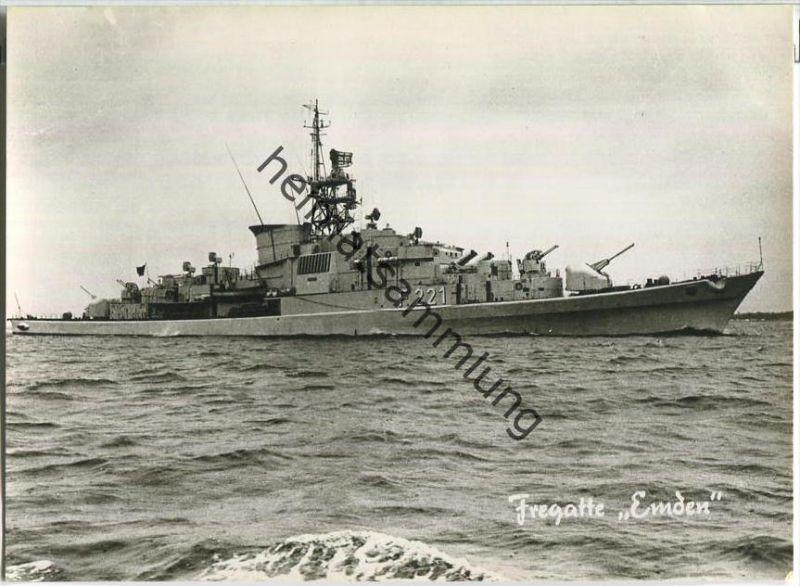 Bundeswehr - Unsere Flotte - Fregatte Emden - Foto-AK