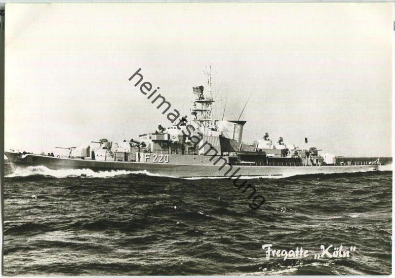 Bundeswehr - Unsere Flotte - Fregatte Köln - Foto-AK