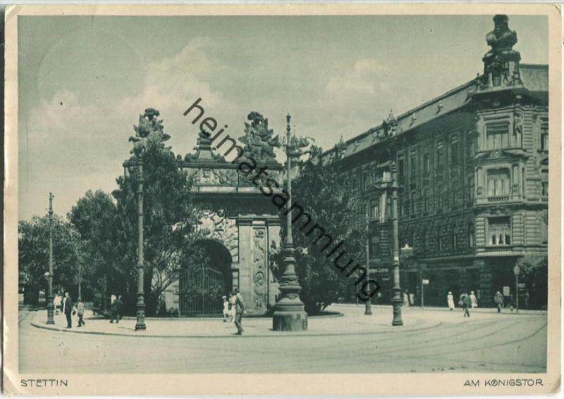 Stettin - Am Königstor