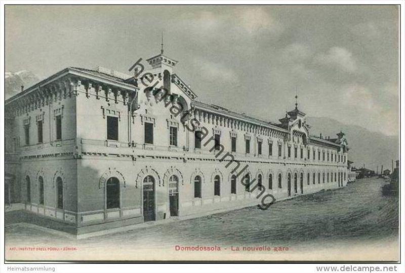 Domodossola - La nouvelle gare