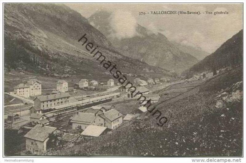 Vallorcine - Vue generale sur la gare