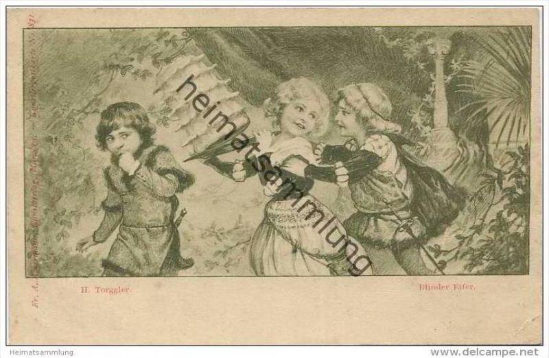 Blinder Eifer - Künstlerkarte H. Torggler Nr. 831
