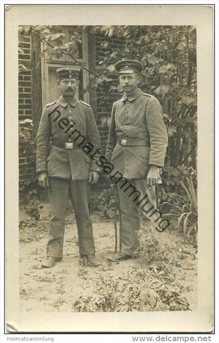Soldaten in Uniform