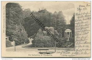Cleve - Kleve - Der Springberg im Thiergarten