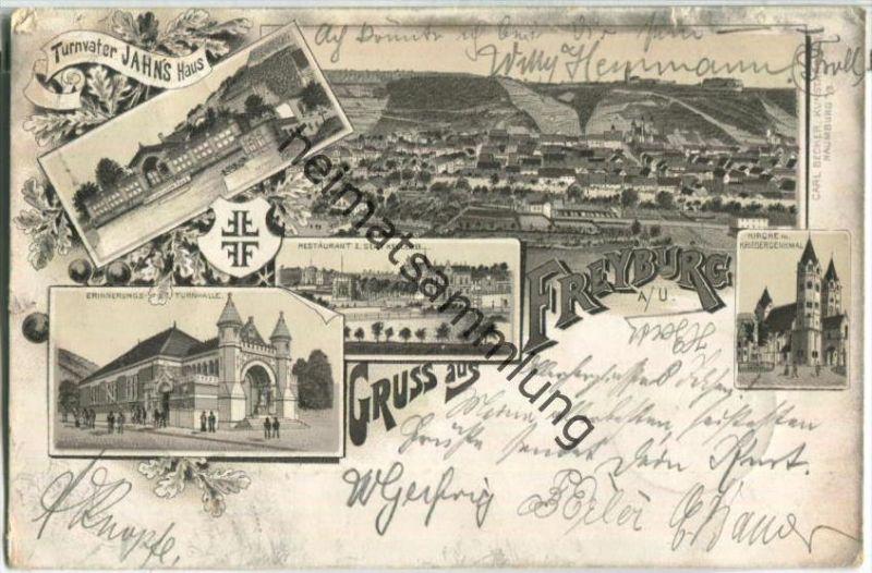 Freyburg - Erinnerungsturnhalle - Turnvater Jahn's Haus