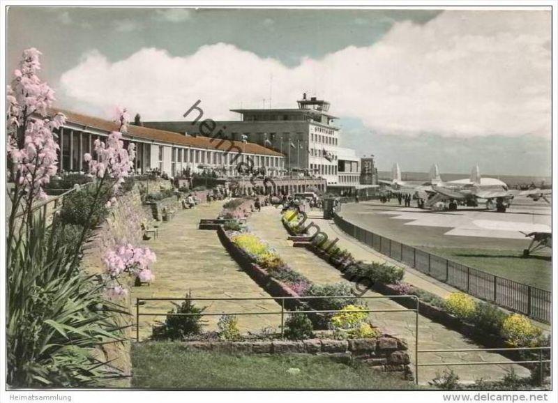 Stuttgart - Flughafen - Foto-AK Grossformat - Verlag Zobel Stuttgart