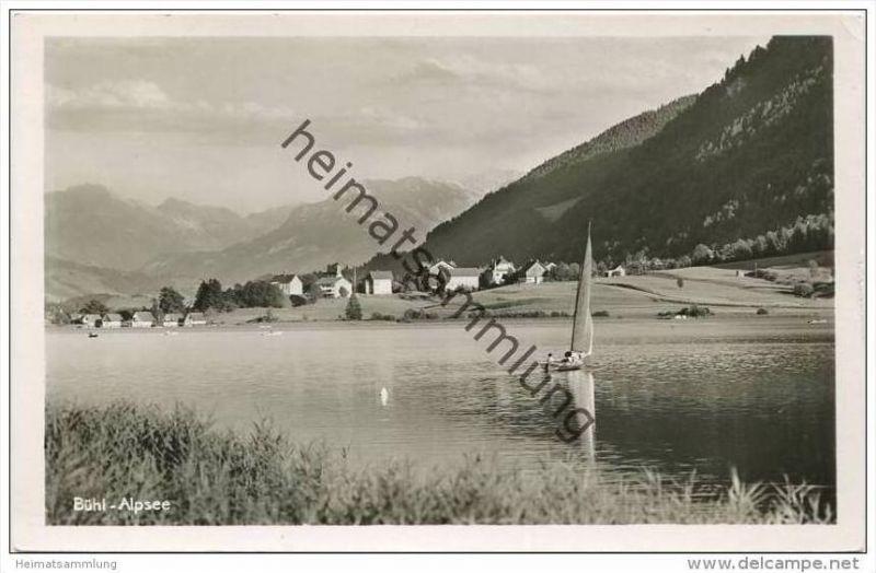 Bühl am Alpsee - Foto-AK
