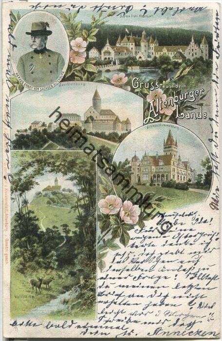 Altenburger Land - Schlösser - Leuchtenburg - Herzog Ernst von Sachsen-Altenburg