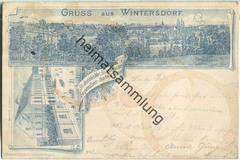 Meuselwitz - Wintersdorf - Gasthof L. Sander