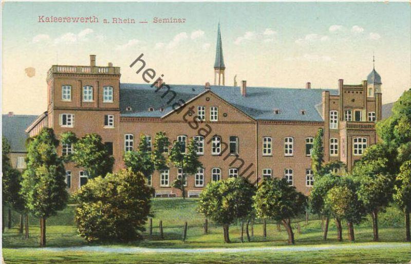 Kaiserswerth am Rhein - Seminar - Verlag der Diakonissen-Anstalt Kaiserswerth