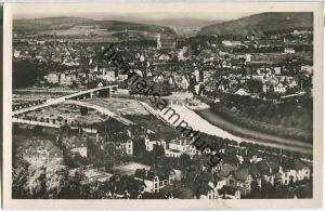 Saarbrücken - Gesamtansicht - Foto-Ansichtskarte - Verlag P. Krämer Saarbrücken