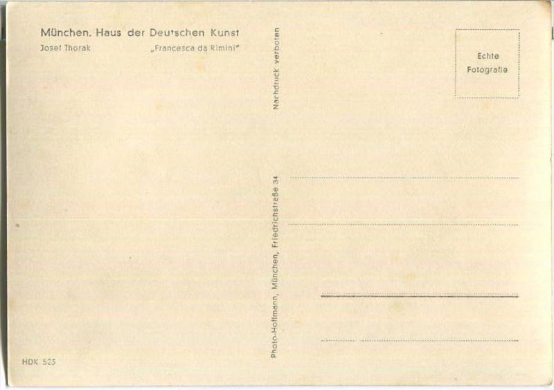 Hdk523 Francesca Da Rimini Josef Thorak Verlag Photo Hoffmann München