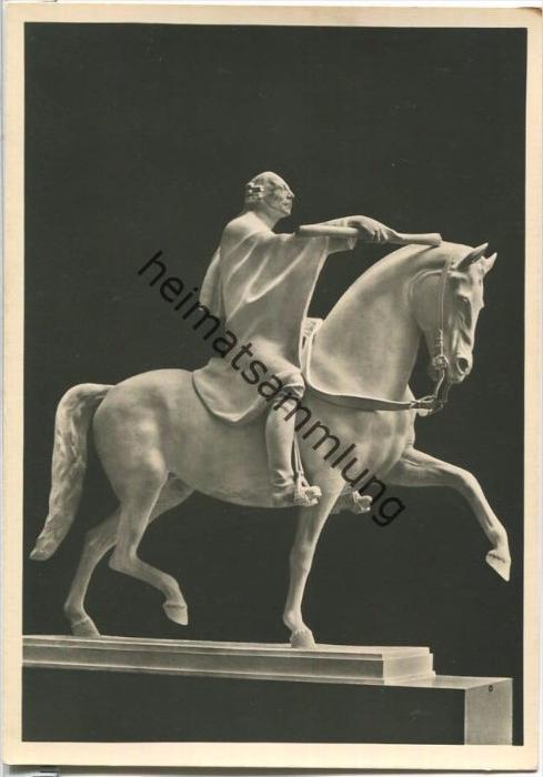 HDK552 - Der königliche Reiter - Josef Thorak - Verlag Photo Hoffmann München