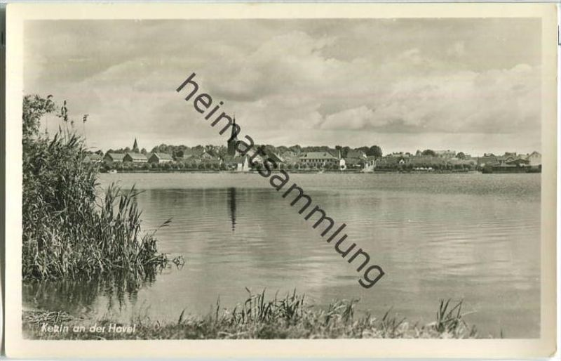 Ketzin - Havel - Foto-Ansichtskarte 50er Jahre - Verlag Teco