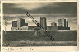 Hohenstein - Olsztynek - Reichsehrenmal Tannenberg - Gesamtansicht - Foto-Ansichtskarte