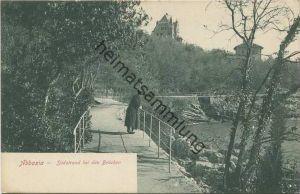 Abbazia Opatija - Südstrand bei den Brücken - Verlag Fr. Reincke Abbazia