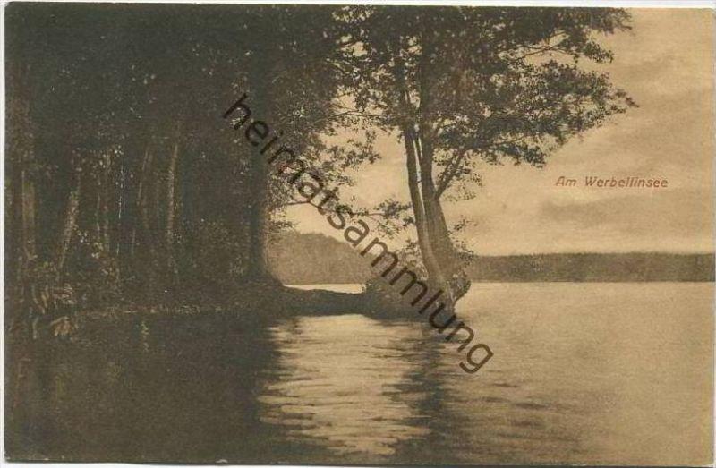 Am Werbellinsee - Verlag Max Krusche Heegermühle gel. 1925