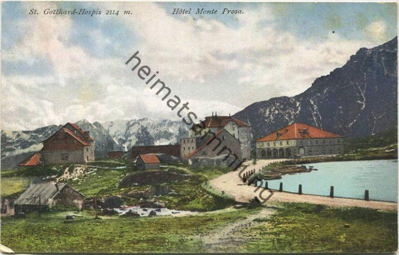 St. Gotthard-Hospiz - Hotel Monte Prosa - Verlag Chr. Brennenstuhl Meyringen