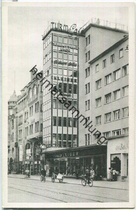 Karlsruhe Kaiserstraße Turm Cafe Nr 356397964 Oldthing