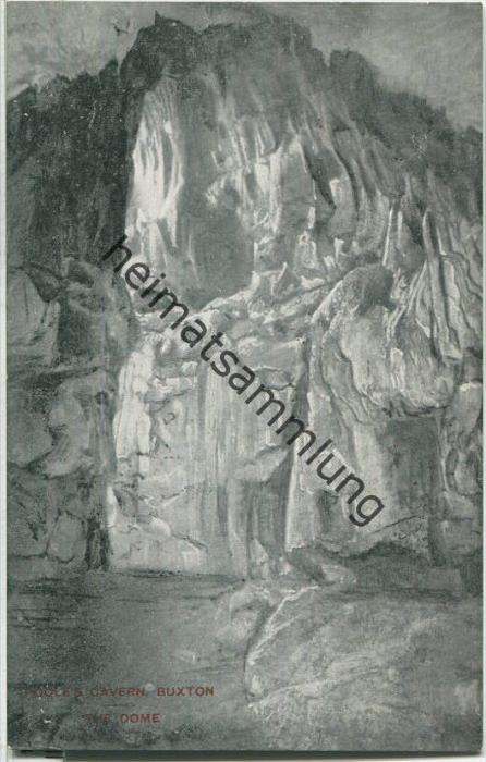 Poole's Cavern - Buxton - The Dome - Verlag F. Redfern