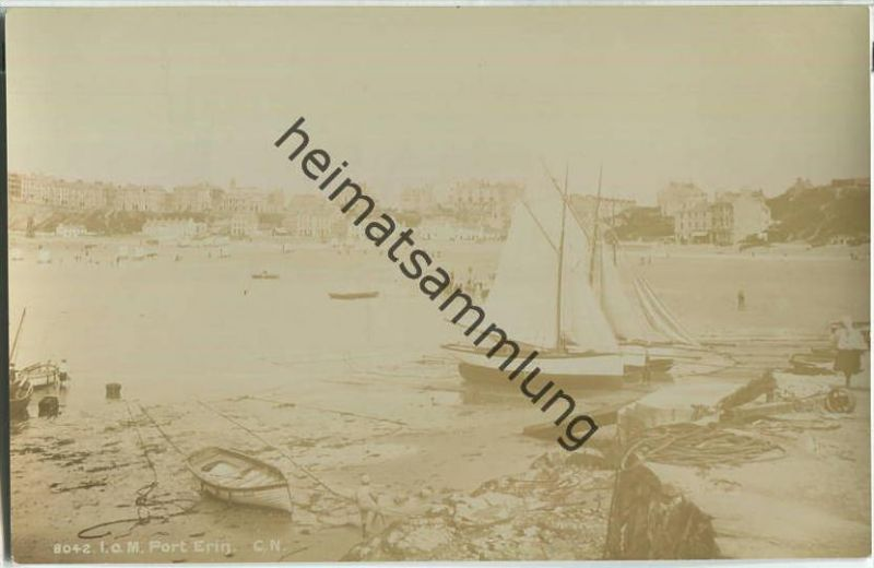 Isle of Man - Port Erin - Foto Ansichtskarte - Verlag The Photochrom Co. Ltd. London ca. 1910