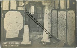 Isle of Man - Castle Rushen - Runic Crosses