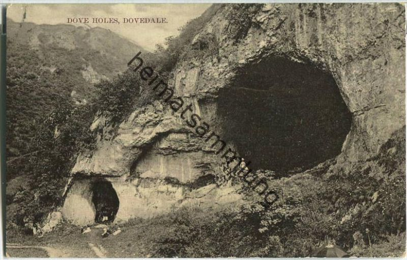 Doverdale - Dove Holes - Foto-Ansichtskarte - Verlag W. Shaw Burslem
