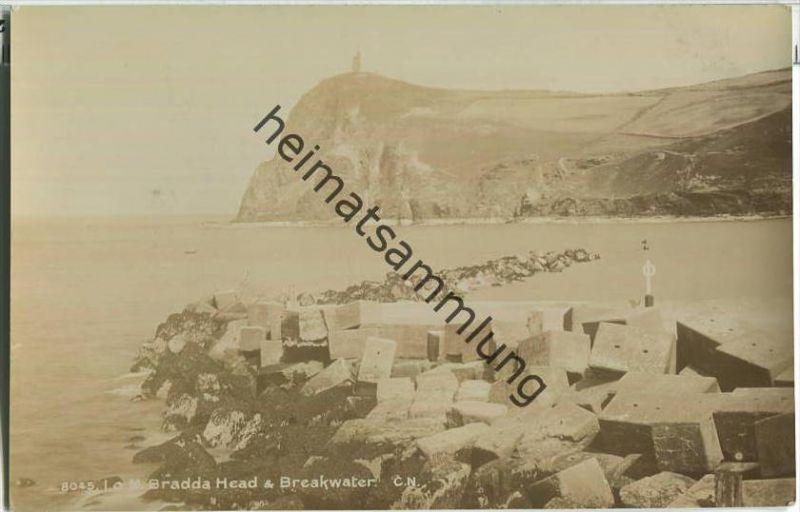 Isle of Man - Bradda Head & Breakwater - Foto Ansichtskarte - Verlag Photochrom Co. Ltd. London