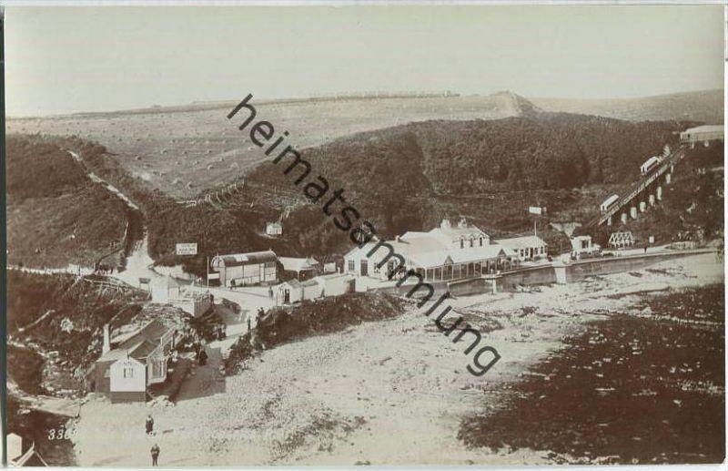 Isle of Man - Port Soderick - Electric Cars Marine Drive Douglas - Railway - Foto Ansichtskarte - Verlag Photochrom Co.