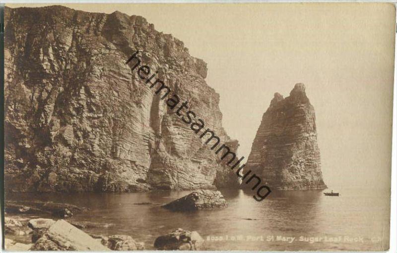 Isle of Man - Port St. Mary - Sugar Loaf Rock - Verlag Photochrom Co. Ltd. London