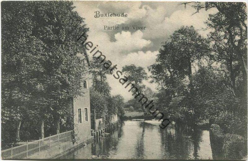 Buxtehude - Partie am Viver - Verlag M. Glückstadt & Münden Hamburg gel. 1914