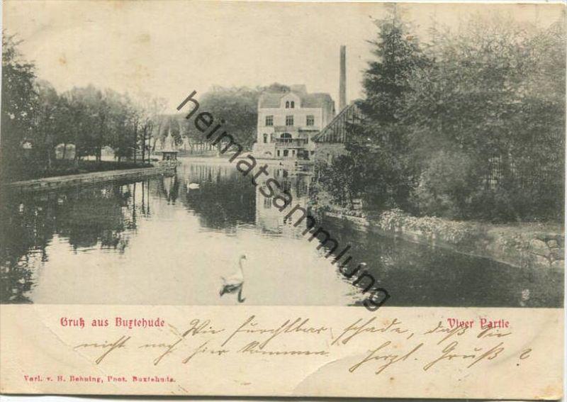 Buxtehude - Viver Partie - Verlag H. Behning Buxtehude gel. 1904
