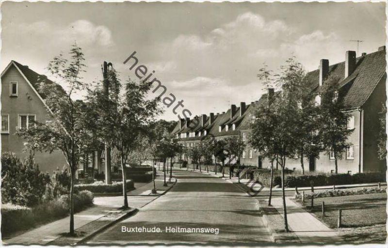 Buxtehude - Heitmannsweg - Foto-AK 1965 - Cramers Kunstanstalt KG Dortmund