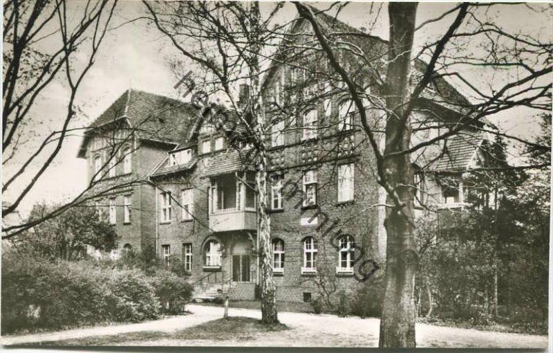 Berlin-Spandau - Evangelischer Johannesstift - Matthias-Claudius-Heim - Foto-AK